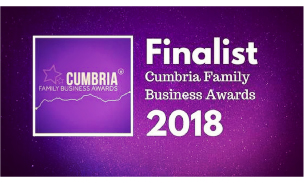 2018 Finalist - Cumbria Family Business Awards