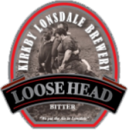 Kirkby Lonsdale Brewery Loosehead Bitter pump clip