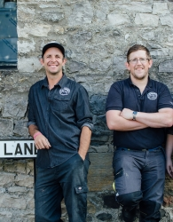 Kirkby Lonsdale Brewery staff
