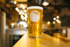 Pint of beer from Kirkby Lonsdale Brewery