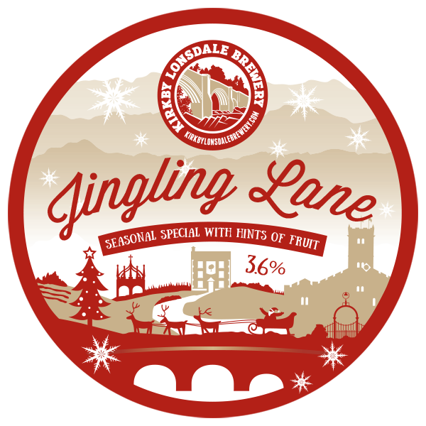 Jingling Lane from Kirkby Lonsdale Brewery