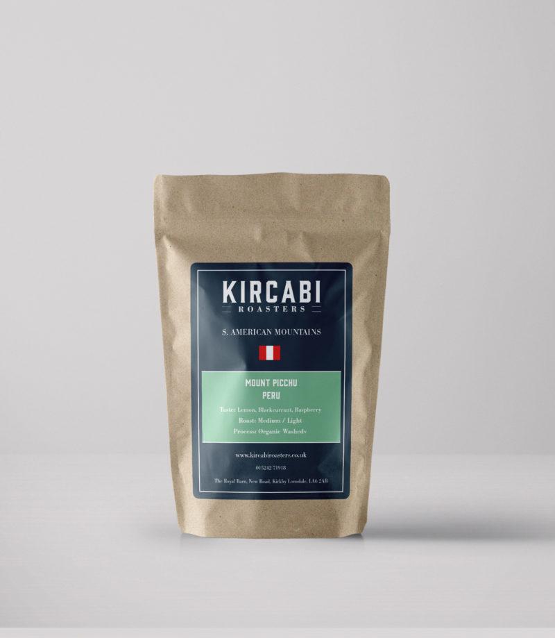 Kircabi Mount Picchu Peru Coffee