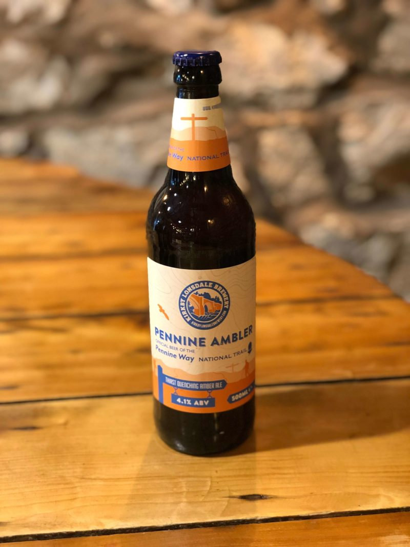 Bottle of Penine Ambler from Kirkby Lonsdale Brewery