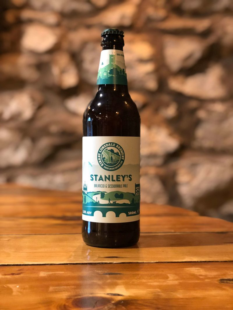 Bottle of Stanley's from Kirkby Lonsdale Brewery