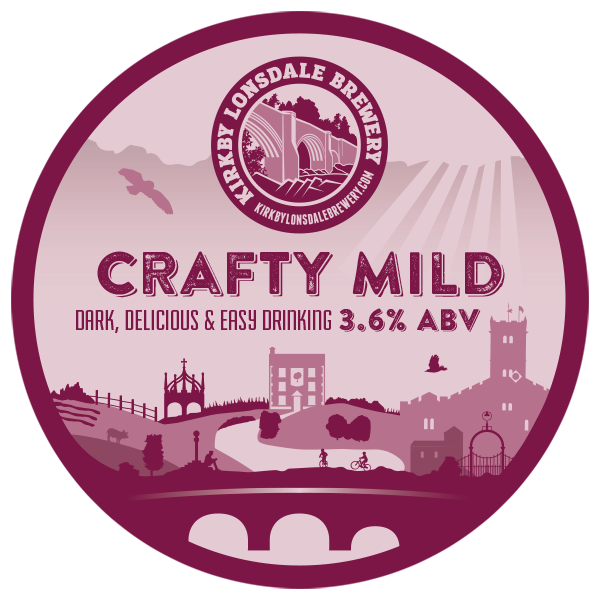 Crafty Mild Beer from Kirkby Lonsdale Brewery