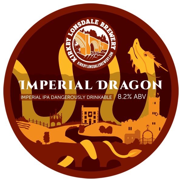 Imperial Dragon Beer from Kirkby Lonsdale Brewery