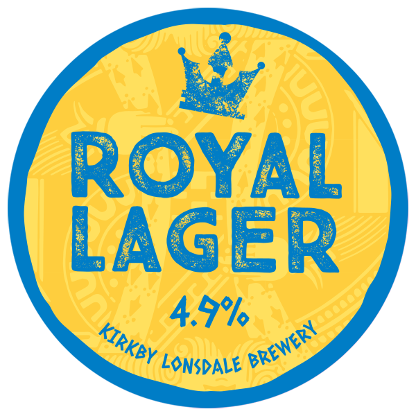 Royal Lager from Kirkby Lonsdale Brewery